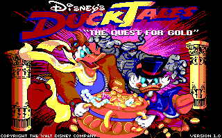 Duck Tales : The Quest for Gold