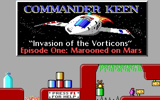 Commander Keen 1 : Marooned on Mars